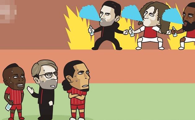 Ảnh chế vòng 36 Premier League - Bóng Đá