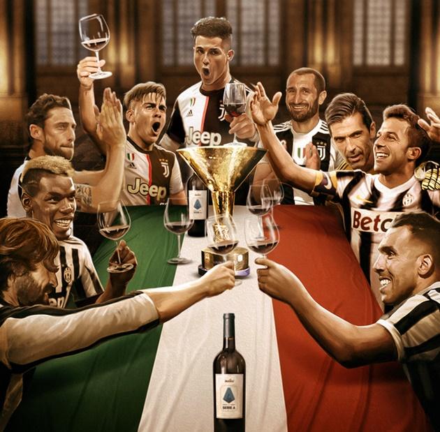 Ảnh chế Juve vô địch Serie A - Bóng Đá