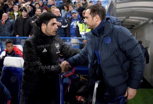 Mikel Arteta hails Frank Lampard ahead of Arsenal's FA Cup final clash with Chelsea  / - Bóng Đá
