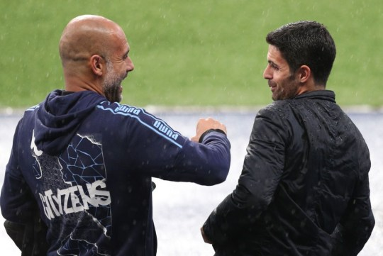 Mikel Arteta sends class message to Pep Guardiola after Arsenal beat Chelsea in FA Cup final   - Bóng Đá