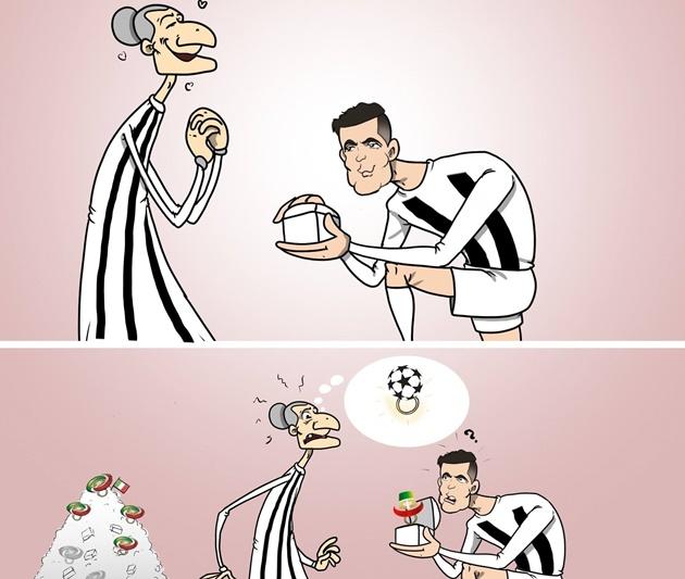 Ảnh chế Juve thua Lyon - Bóng Đá