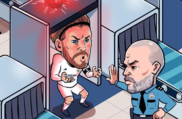 Ảnh chế Real thắng Man City - Bóng Đá