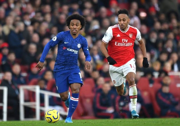 Willian completes Arsenal medical ahead of transfer from Chelsea  - Bóng Đá