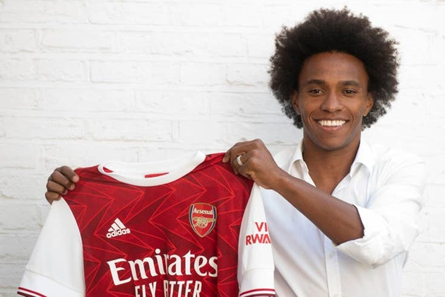 Willian: I joined Arsenal to fight for Premier League and European titles - Bóng Đá