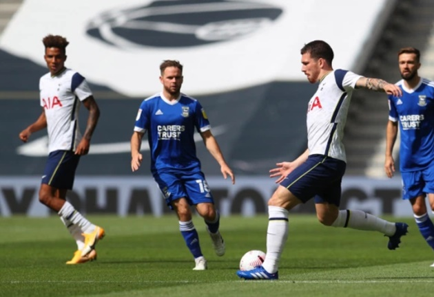 Tottenham impress with Hojbjerg and Joe Hart making debuts and Sessegnon and Son on target in friendly - Bóng Đá
