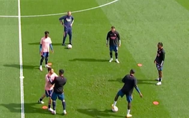 Mikel Arteta reacts to Arsenal bust-up between Dani Ceballos and Eddie Nketiah - Bóng Đá