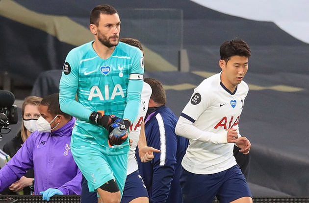 Son Feels the Fury of Lloris at Half-Time for not Tracking Back! - Bóng Đá