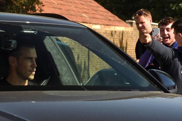 Gareth Bale has arrived at Tottenham!  - Bóng Đá