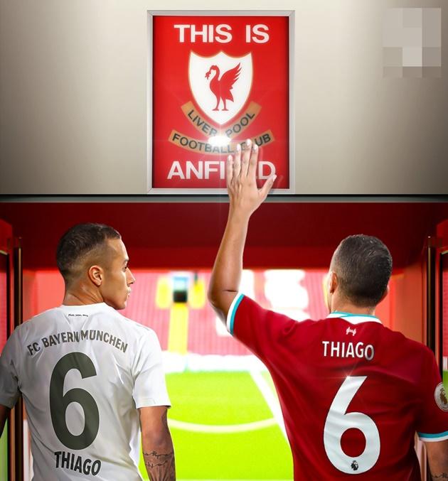 Ảnh chế Liverpool mua Thiago - Bóng Đá