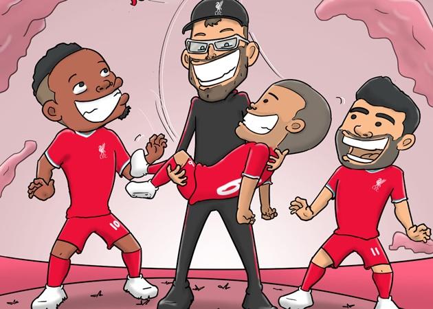 Ảnh chế Liverpool thắng Chelsea - Bóng Đá