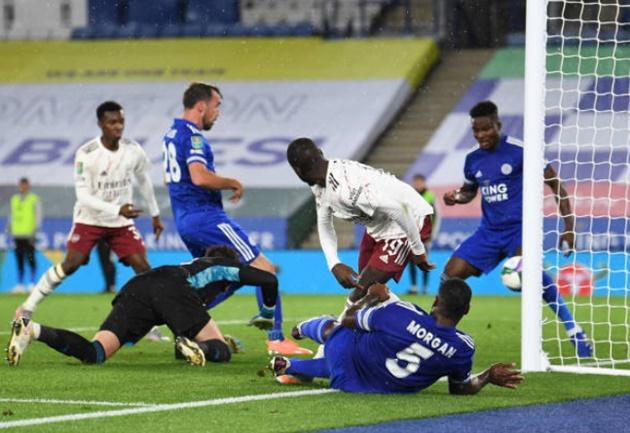 Ảnh Arsenal thắng Leicester - Bóng Đá