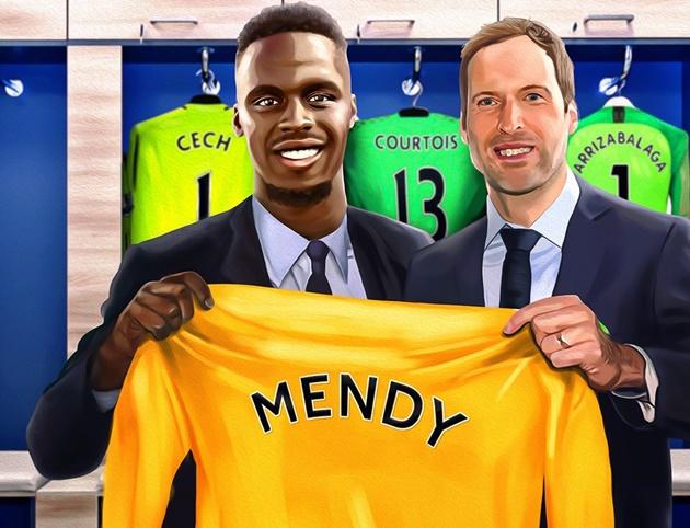 Ảnh chế Chelsea mua Mendy - Bóng Đá