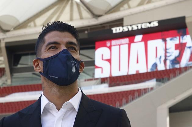Ảnh Suarez ra mắt + tập Atletico - Bóng Đá