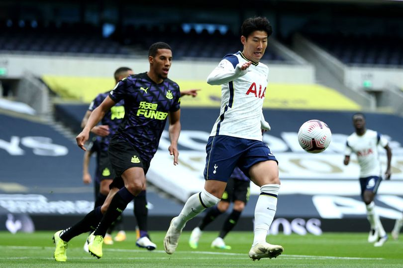 Jose Mourinho has confirmed that Son Heung-min was substituted against Newcastle United due to a hamstring injury - Bóng Đá