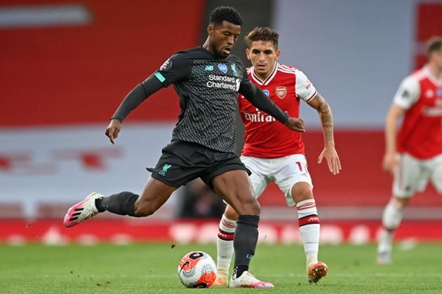 Đội hình dự kiến Liverpool đấu Arsenal - Bóng Đá