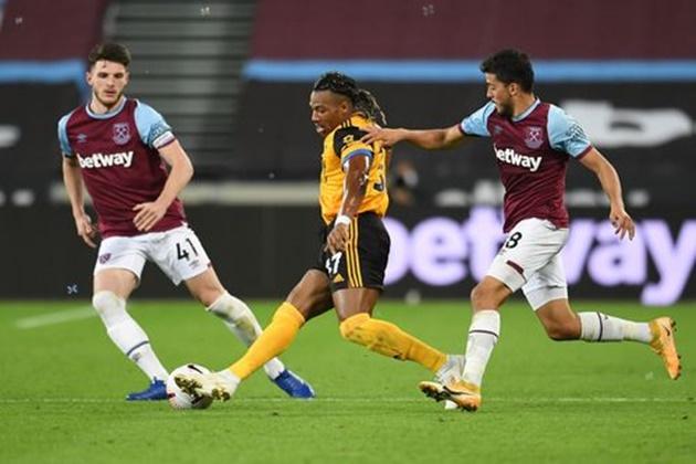 Ảnh West Ham 4-0 Wolves - Bóng Đá