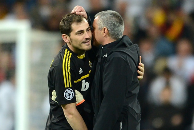 Casillas feuded with Mourinho but has no hard feelings towards former Real Madrid boss - Bóng Đá