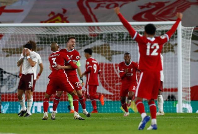 TRỰC TIẾP Liverpool 3-1 Arsenal (H2): Jota cuối cùng cũng thành công - Bóng Đá
