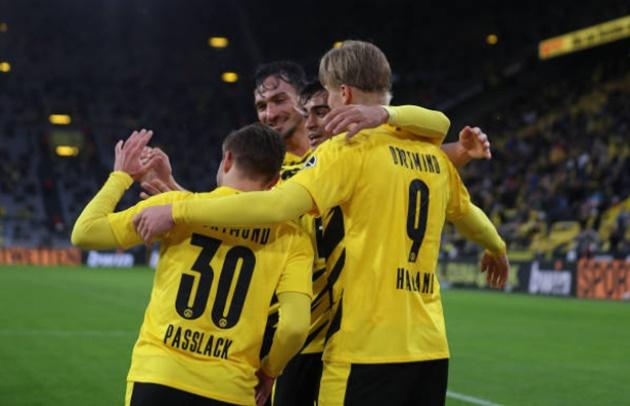 Ảnh Dortmund thắng - Bóng Đá