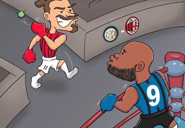Ảnh chế AC thắng Inter - Bóng Đá