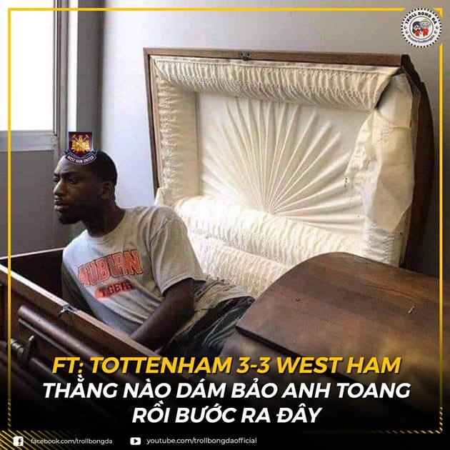 Cười té khói với loạt ảnh chế Tottenham hòa 3-3 - Bóng Đá