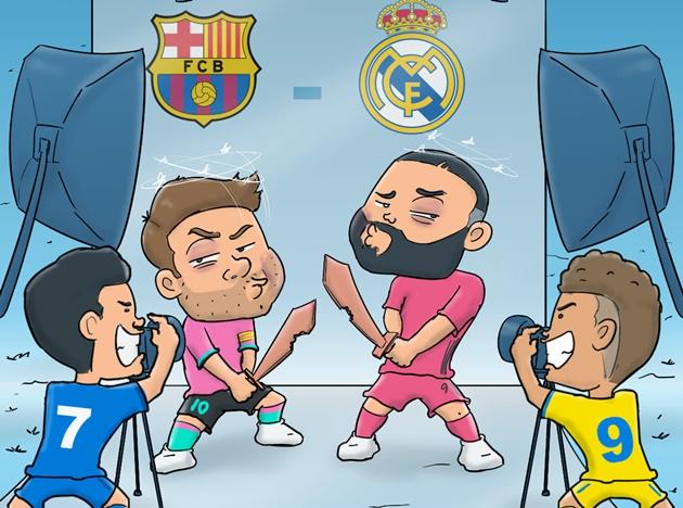 Cười té khói với loạt ảnh chế Real và Barca thua sốc - Bóng Đá