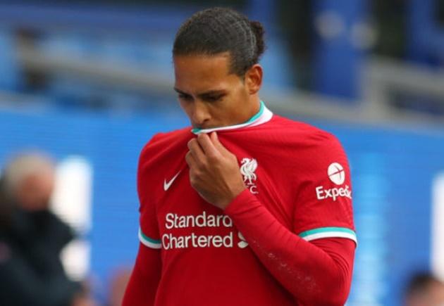Frank Lampard reacts to Virgil van Dijk injury and sends message to Liverpool defender  - Bóng Đá