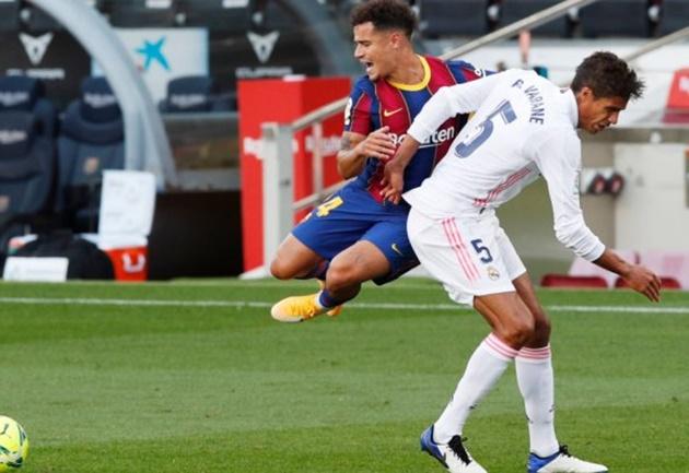 Barcelona, Coutinho injured: he will miss Juventus match - Bóng Đá