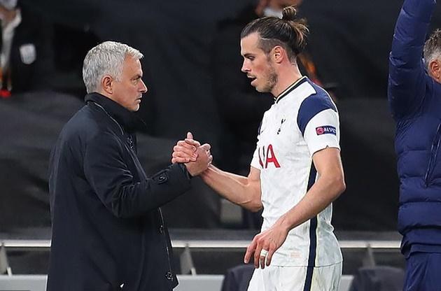 Mourinho nhận xét về Bale.