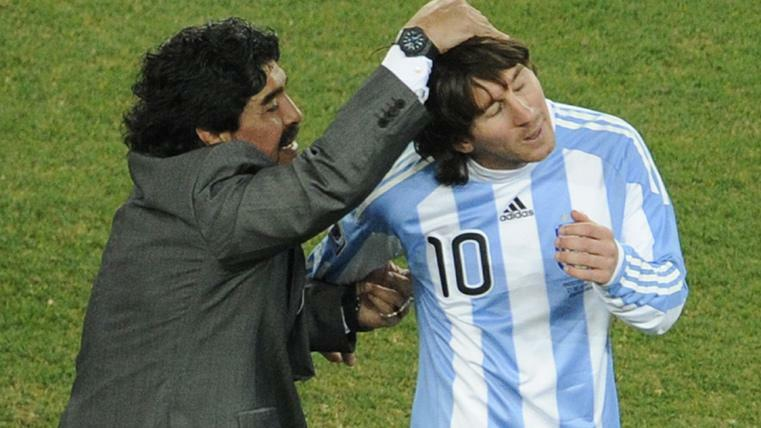 Koeman discussed Ansu Fati and Lionel Messi, touching upon the latter's comparison with Diego Maradona - Bóng Đá