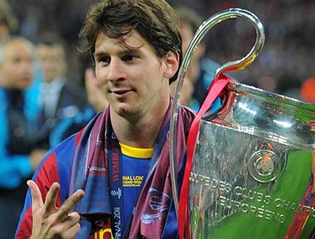 Thủ quân Barcelona - Lionel Messi cũng có cột mốc đáng nhớ của riêng mình.
