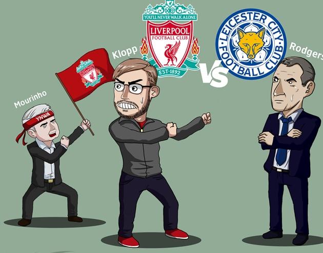 Leicester City hành quân đến Anfield trong bối cảnh bị Tottenham Hotspur qua mặt chiếm ngôi đầu bảng.