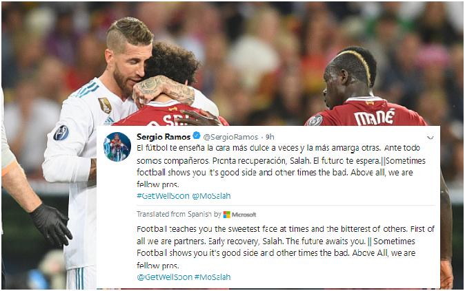 170,000 người ký đơn yêu cầu trừng phạt Ramos sau pha bóng làm Salah chấn thương - Bóng Đá