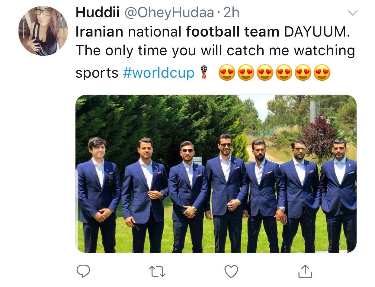 Phong cách cực cool như 'nam thần' của dàn tuyển thủ Iran - Bóng Đá