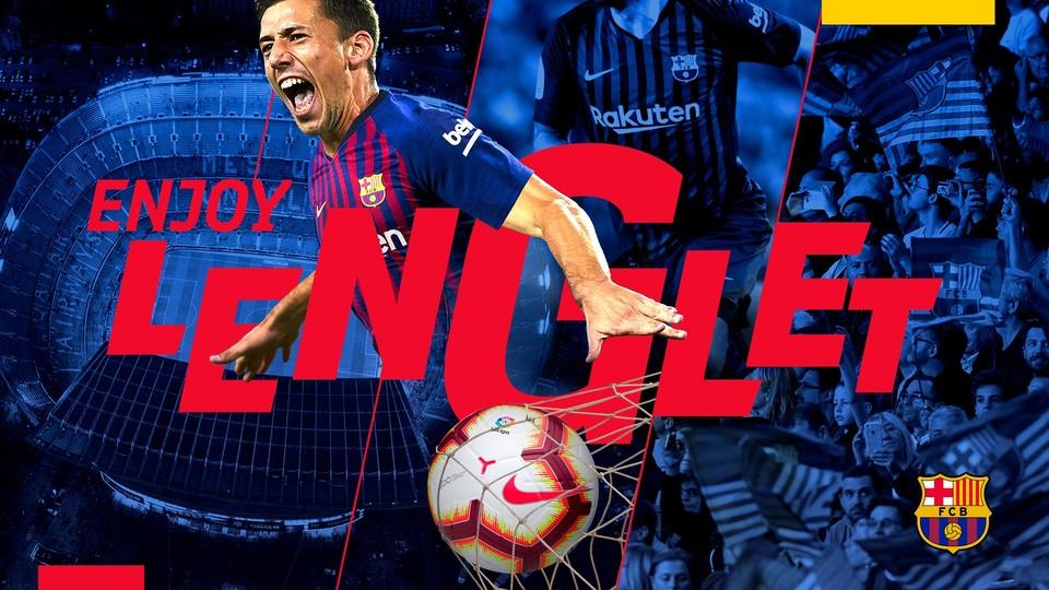 Chính thức: Barca ký hợp đồng với hậu vệ Sevilla - Bóng Đá