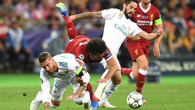 'Ramos quá lão luyện, không có ý định chơi xấu Salah' - Bóng Đá