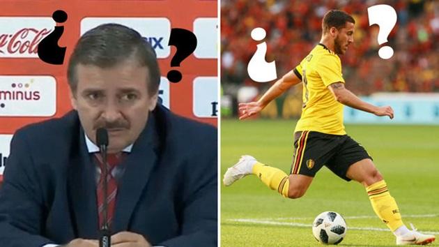 HLV Costa Rica không hề biết tên của Eden Hazard - Bóng Đá