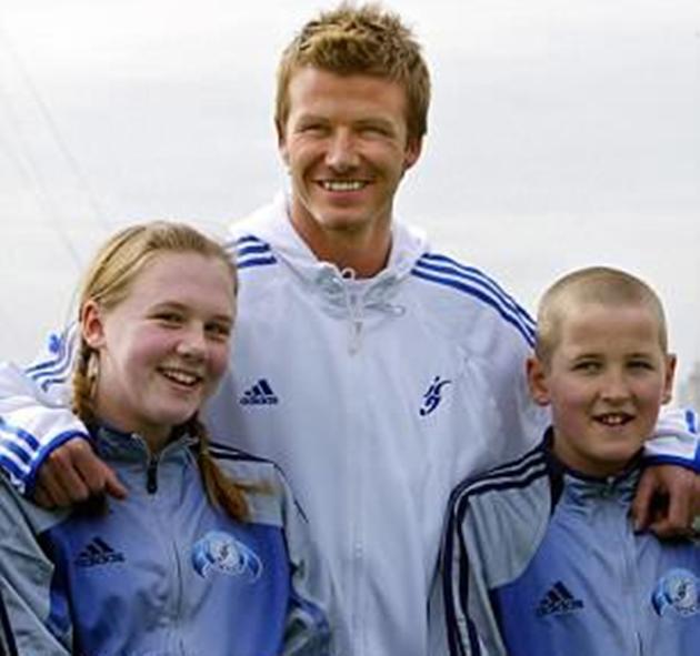 Phát sốt hình ảnh vợ chồng Harry Kane gặp Beckham 13 năm trước - Bóng Đá