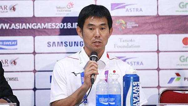 HLV Olympic Nhật Bản khiêu khích Olympic Việt Nam trước trận quyết đấu - Bóng Đá