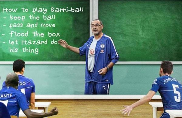 Chelsea thất bại vì 'Sarri-ball quá khó để hiểu' - Bóng Đá