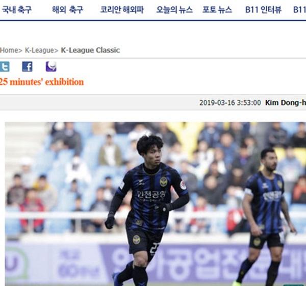 Nhà báo Hàn: Chỉ xem 25 phút tôi đã thấy tiềm năng của Công Phượng - Bóng Đá