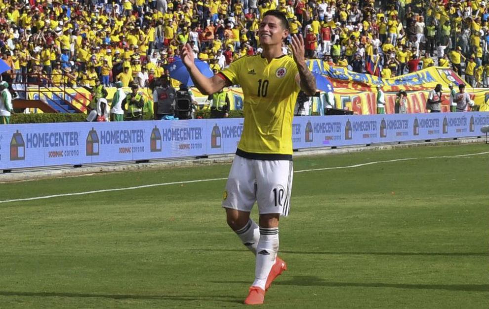 James Rodriguez trước cơ hội