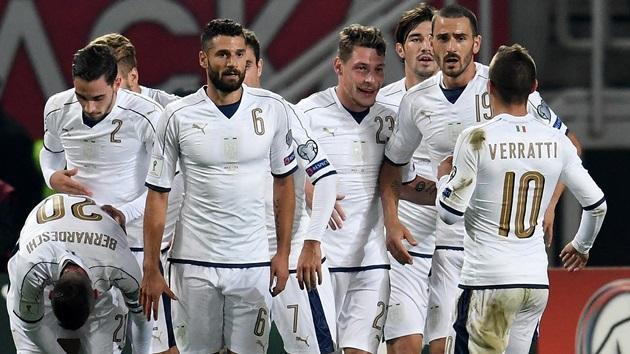 02h45 ngày 13/11, Liechtenstein vs Ý: Dạo chơi trên đất khách