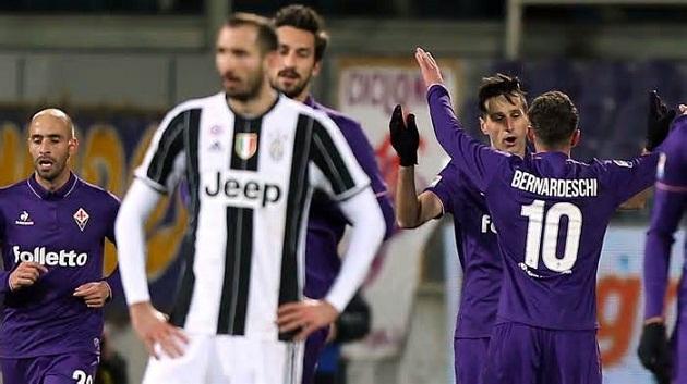 Sau vòng 20 Serie A: Juve đánh mất lợi thế