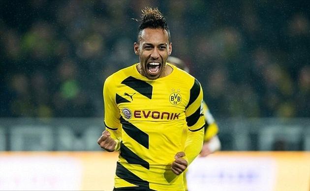 Aubameyang nổ súng, Dortmund đánh chiếm top 3 thành công