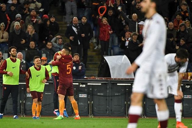 ĐHTB Serie A vòng 25: Roma làm mưa làm gió