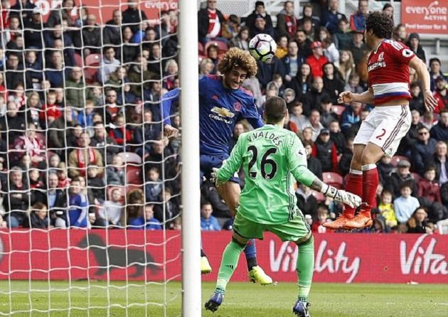 Hạ gục Middlesbrough, Man Utd thoát kiếp