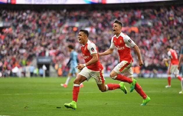 Dùng 3-4-3 hạ Man City, Arsenal hẹn Chelsea ở Chung kết - Bóng Đá