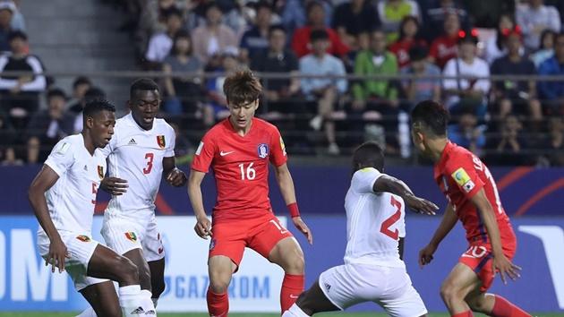 Guinea thất thủ trước lối chơi khoa học của Hàn Quốc - Bóng Đá