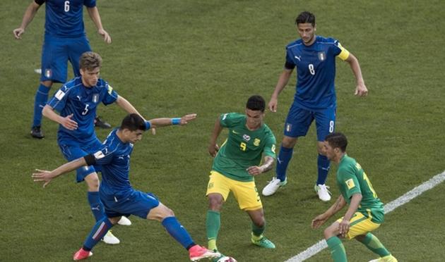 Trở lại mạnh mẽ, U20 Italia đẩy U20 Nam Phi đến sát